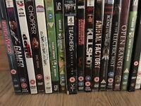 Assortment of DVDs
