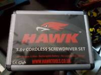 Hawk 3.6v Cordless Screwdriver