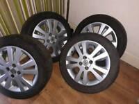 Alloys wheels vauxhall Corsa