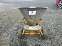 Peacock towable salt fertiliser spreader ideal for farm industrial estate etc