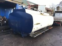 TANK FUEL TANK 12500 Lt 4 COMPARTMENT TANK WITH PUMP OFF 18 TON VOLVO GOOD CONDITION