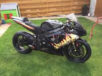 Suzuki GSXR 600 K7 2007 track bike