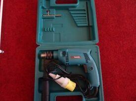 Makita HP1500 percussion drill 13MM chuck 110V