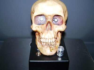 (Cosmic Sound Effects -  PHOTO THEREMIN - SKULL - ANALOG ELECTRONIC SYNTH)