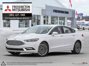 2017 Ford Fusion SE! AWD! HEATED LEATHER! NAV! ONLY 13K!