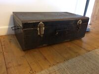 Metal trunk and storage