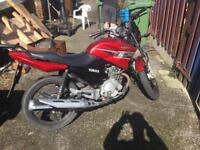 Honley 125cc full Yamaha ybr conversion