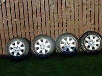 vw volkswagen transporter t5 miyato genuine alloy wheels