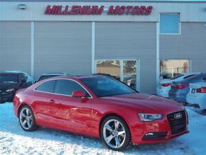 2014 Audi A5 2.0 KOMFORT & S-LINE / 6-SPEED MANUAL / SUNROOF