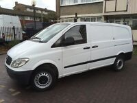 MERCEDES VITO 109 CDI LWB 2010 MODEL LOW MILEAGE ONLY 115000 LONG MOT A VERY RELIABLE ECONOMICAL VAN