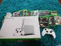 Xbox one limited edition 2tb with 13 games
