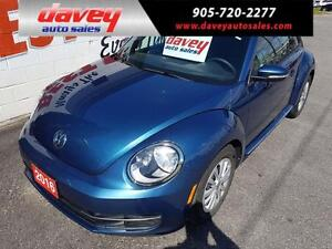 2016 Volkswagen The Beetle 1.8 TSI Trendline HEATED SEATS, BL...