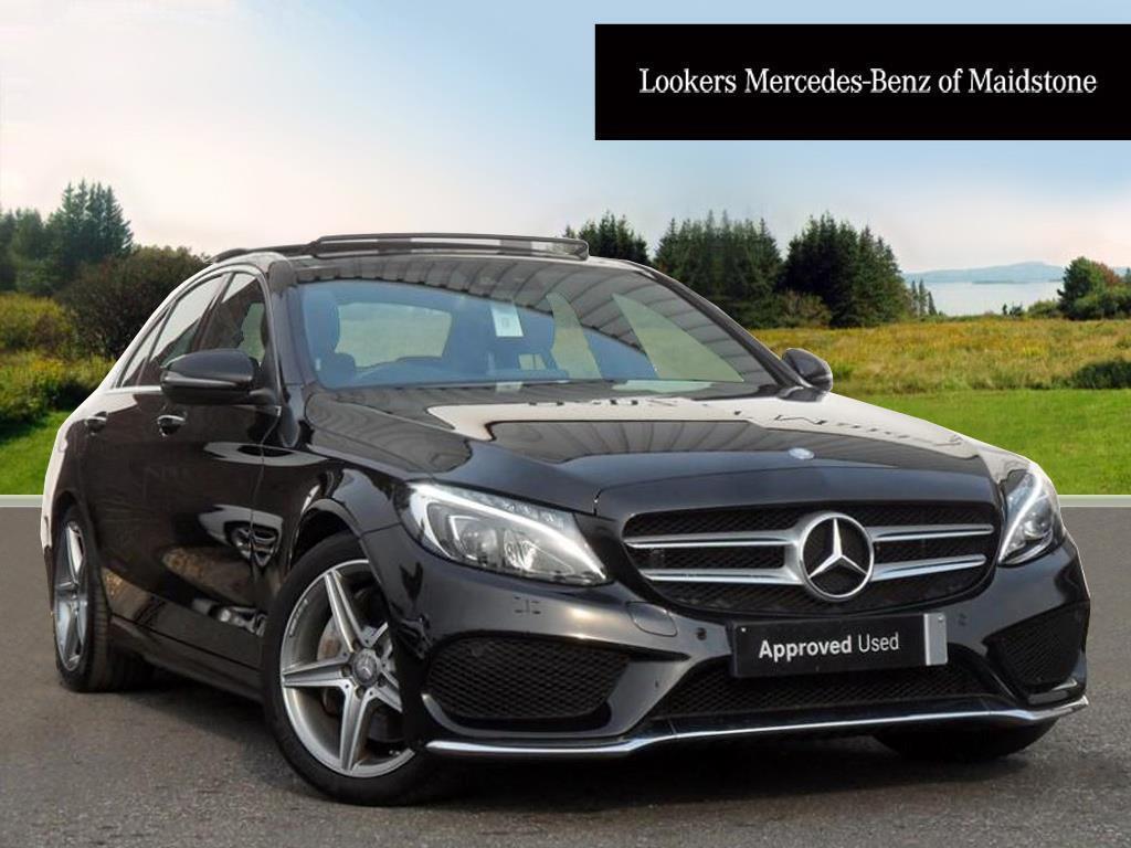 Mercedes benz c class c250 d amg line premium plus black for Mercedes benz c250 amg