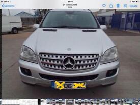 Mercedes Benz Ml 280 cdi Sports full year MOT