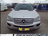 Mercedes Benz Ml 280 cdi Sports full year MOT