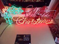 fashing merry christmas sign