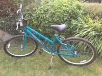 "Ladies hybrid bike bicycle 16"" frame Raleigh Vixen"
