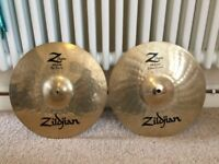 Zildjian Z Custom 13 Hi Hats Cymbals VERY GOOD CONDITION
