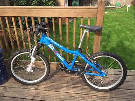 Ridgeback MX20 20 Inch Wheel Bike Matte Blue - Excellent Condition!