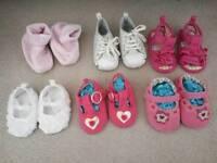 0-6 month shoe bundle