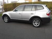 2006 BMW X3 2.0d DIESEL 6 SPEED MANUAL MOT UNTIL FEB 2018 £3350 ono.