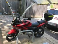 HONDA CBF125 - NEW CHAIN, SPROCKETS & MOT