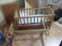 Baby Swinging Cribs