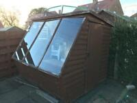 Garden shed summer house gazebo free