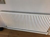 6 radiators, varying sizes, 3 years old good condition