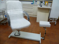 PEDICURE TREATMENT ADJUSTABLE CHAIR BEAUTY HEALTH FOOT FEET NAILS CARE
