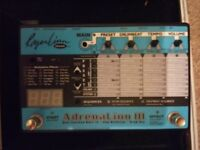 Roger Linn 'Adrenalinn III' multi-fx pedal