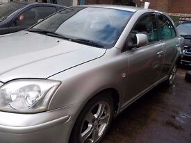 Toyota Avensis petrol breaking for parts