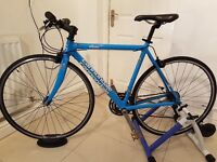 """Cannondale R500 CAAD4 Hybrid 20""""Size/21speed/10kgWeight (Carbon forks) RRP £900"""
