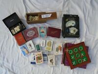Various Playing Cards, Dominoes Etc. Some Vintage. Selling as a Job Lot.