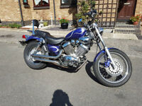 Yamaha XV535 DX 2002 low mileage 12 months MOT