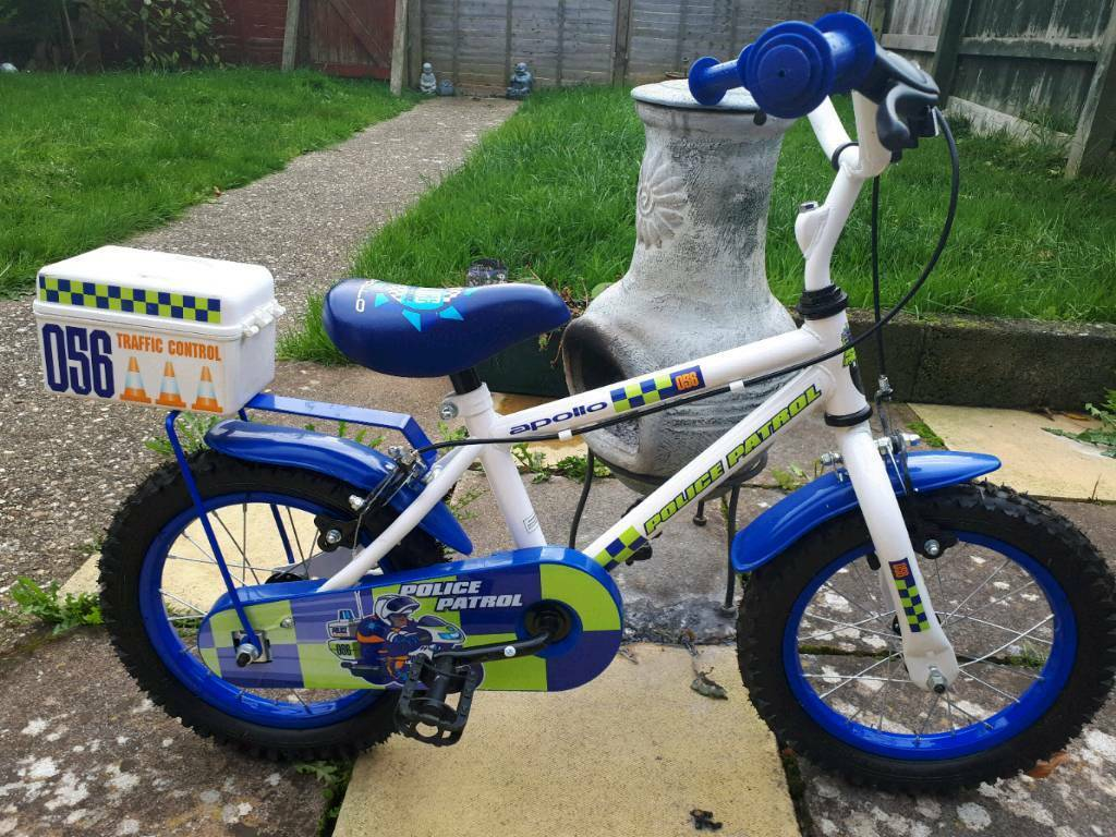 Boys Police Patrol bike