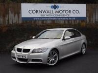 BMW 3 SERIES 2.0 320D M SPORT 4d 161 BHP RECENT MOT AND SERVICE (silver) 2007