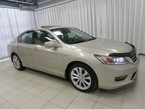 2014 Honda Accord TOURING SEDAN! FULLY LOADED WITH LEATHER! LOW