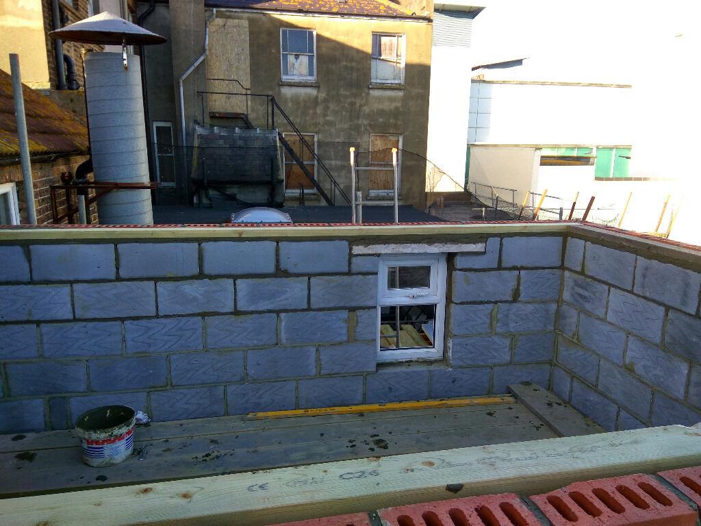 Brick works, brick fences, patios, paths, decorations, building extensions
