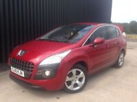 2010 Peugeot 3008 1.6 HDi FAP Sport 5dr Diesel, 1 Previous Owner, 2 Keys, Service History, May PX