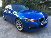 STUNNING BMW 3 SERIES M-SPORT ***RED LEATHER***