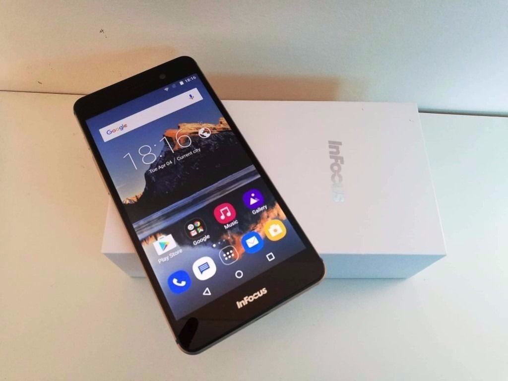 android smarphone (unlocked) 16gb 13mp camerain Kemnay, AberdeenshireGumtree - infocus android smartphone unlocked to any network Gold aluminium body 5.2 inch screen hd screen 16gb internal memory sd card slot 2gb ram android 5.1 lollipop 13mp camera 5mp front camera duel sim ( sd card slot) been so impressed by this phone, its...