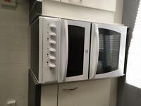 """Electric Cooker """"Indesit"""" - double-oven cooker with grill"""