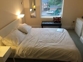5 items double bedroom, bedside chair, bedside table, wardrobe and chest of drawers for sale