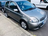 2005 TOYOTA YARIS 1.0 VVT-i COLOUR COLLECTION 3dr#NEW MOT TILL JULY 2019#AC#LOW MILEAGE,40k ONLY#