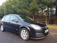 MARCH 2006 VAUXHALL ASTRA ACTIVE 1.4 16V BLACK 5DOOR LOW MILEAGE EXCELLENT CONDITION MOT MAY 2017 !!