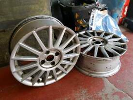 Ford focus st170 genuine alloys x2