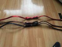 Ted Baker glitter bow belts size 0-1