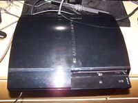 Sony Playstation 3 60gb NTSC console PS1 PS2 PS3