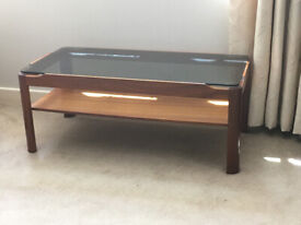 Smoke Glass Coffee Table